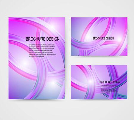 Modern colorful flow poster. Wave Liquid shape in blue color background. Art design for your project. Vector illustration Reklamní fotografie - 140642750
