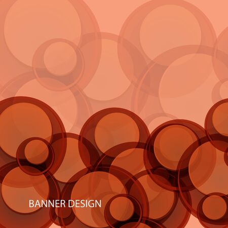 Vector Abstract Red Circle Background. Red Circle Pattern eps10