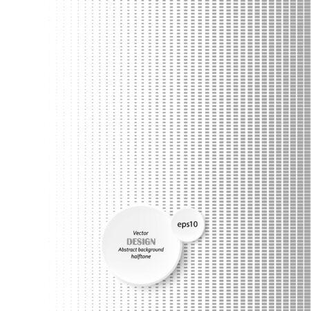 Halftone dots gradient in vector format 向量圖像
