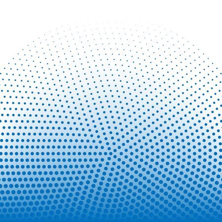 Halftone dots pattern tech blue background vector eps10