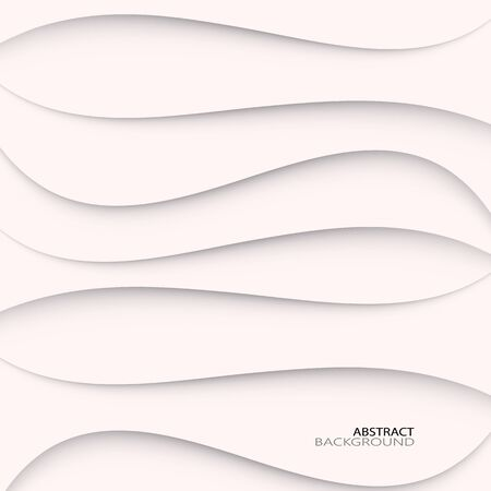 Modern vector abstract wavy shadow background. Design element for your text. eps10
