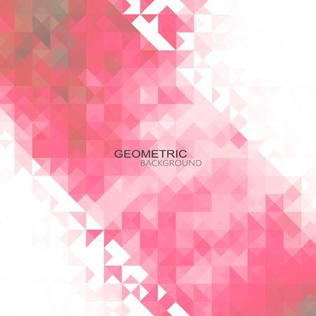 Blue Grid Mosaic Background, Creative Design Templates eps10