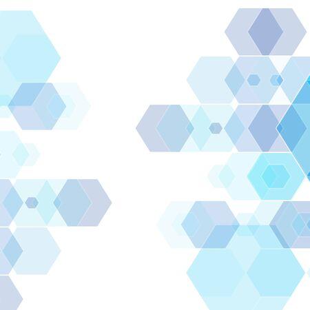 Vector abstract hexagon. Background hexagon element. Vector graphics eps10