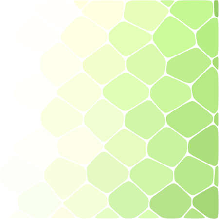 colored chaotic stones. Abstract modern endless background in glowing green colors. Vector illustration. 일러스트