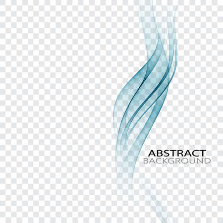 elegant vertical smoke blue wave abstract background design