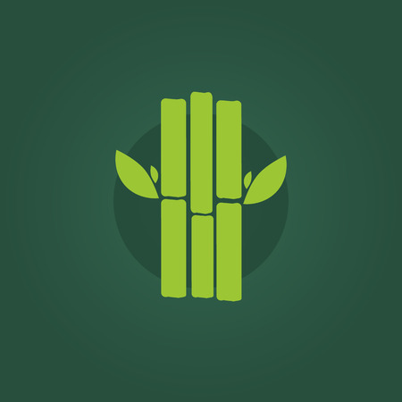 Sugar cane icon. Sugar cane sign and symbol in flat style. Sugar cane concept food