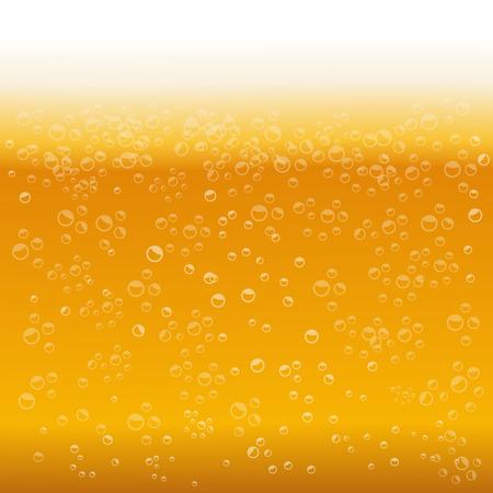 beer foam: Beer foam background vector illustration Illustration