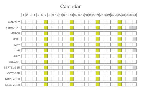 planner: Calendar Planner for 201