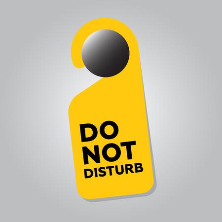or not: Do Not Disturb Door Sign