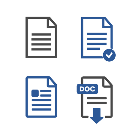 verify: File Icons Illustration