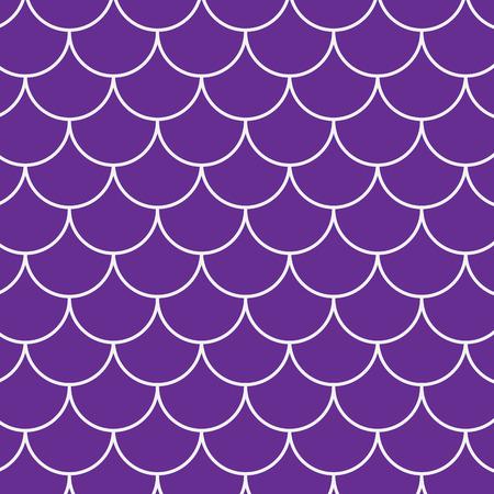 Seamless fish pattern Illustration