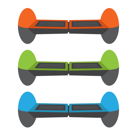 commuting: Set Self-balancing electric scooters