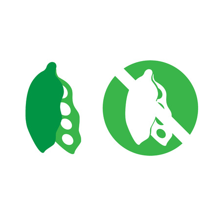 food allergy: Soybeans food allergy icon