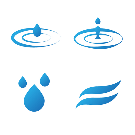objects: Objects symbolizing water