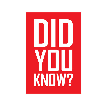 know: did you know, red vector did you know, red tag did you know, background did you know, illustration did you know, element did you know, sign did you know Illustration