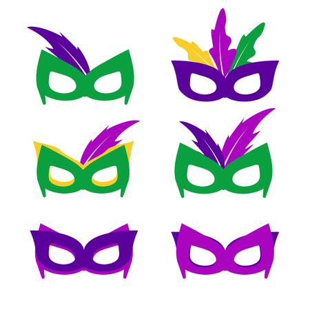 tacky: Mardi gras mask, vector mardi gras masks vector Illustration