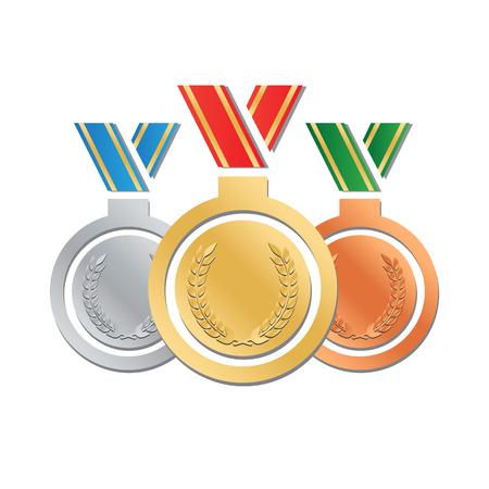high quality: High Quality Medal vector illustration Illustration