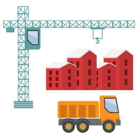 building construction: Under construction. Building business. Construction industry