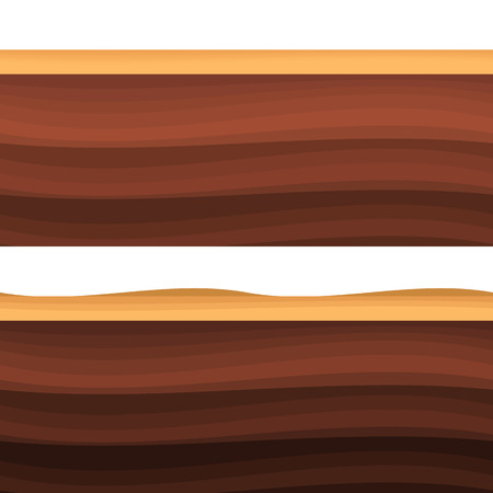 rock layer: Underground layers of earth, seamless ground