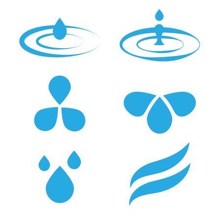 drops of water: Water drops. Set of water drops