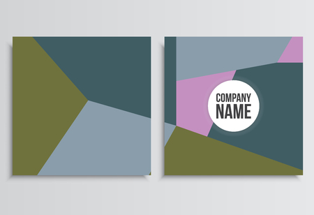 placards: Placards or Banner. Corporate identity template. Business stationery mock-up with logo. Branding design
