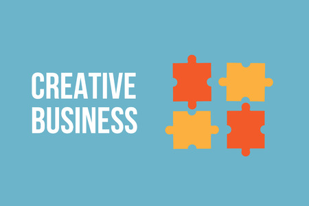 Creative business concept background vector Illustration