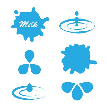 Set Of Milk Splash For Product