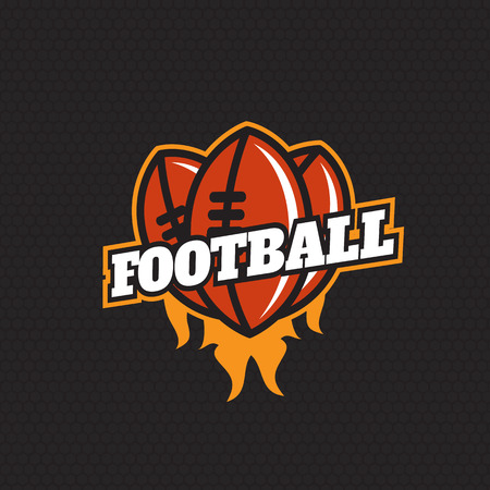 lacing: Football championship. Professional   for a football Illustration