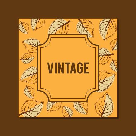 Cover vintage design for handmade album