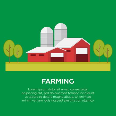 labranza: Productos orgánicos. Agricultura y agricultura Vector de productos orgánicos Vectores