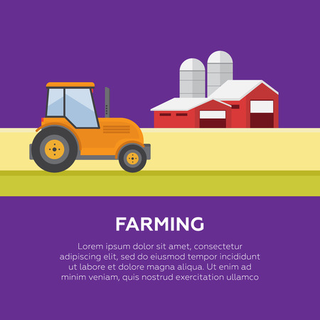 labranza: Organic products. Agriculture and Farming. Agribusiness. Rural landscape Vectores