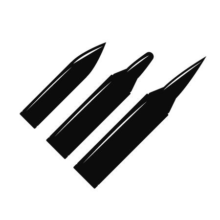 bullethole: Creative Vector bullet holes set. Violence and crime, gunshot and military