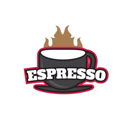 Coffee Shop logo for cafe business Illustration