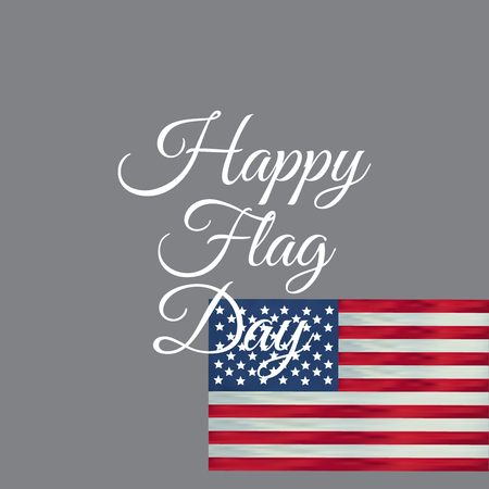 independence day 4 th july. Happy flag day vector background. Happy flag day badge.