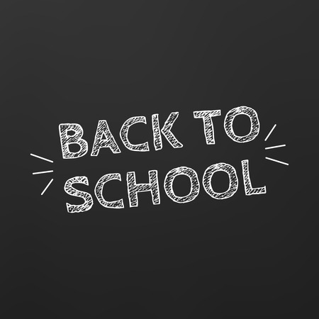 pencil case: Back to School title texts poster design.Education background. Back to school