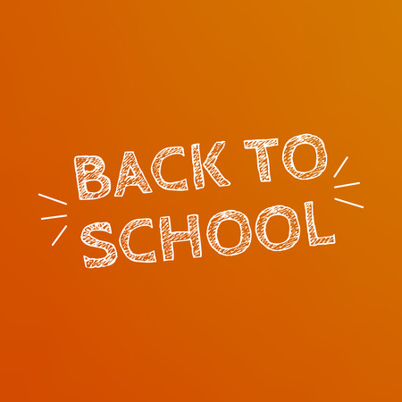 Back to School poster design. Education background. Back to school vector Illustration