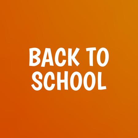 Education background. Back to school vector poster design Illustration