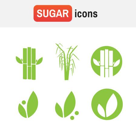 sugar cane icon. Sugar cane illustration vector