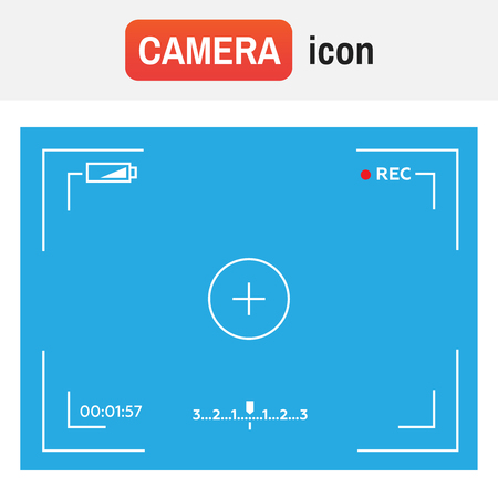 Camera video frame illustration.