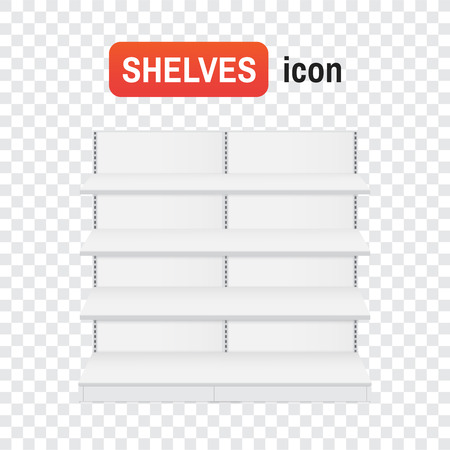 shop shelf. Shop shelves mockup. Shop shelves icons