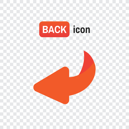 Flip over or turn vector icon
