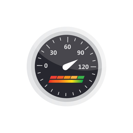 Guage icon. Credit score indicators and gauges vector set. Score Illustration