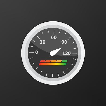 Guage icon. Credit score indicators and gauges vector set. Score vector icon Illustration