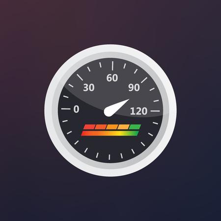 Guage icon. Credit score indicators and gauges vector set. Score vector icon Stock Photo