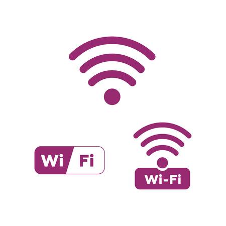 Wireless Network Symbol icon. Ilustrace