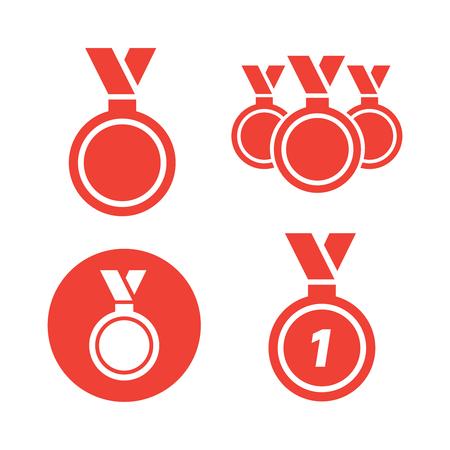 Vector gold award laurel wreath. Winner label, leaf symbol victory. Gold award vector.