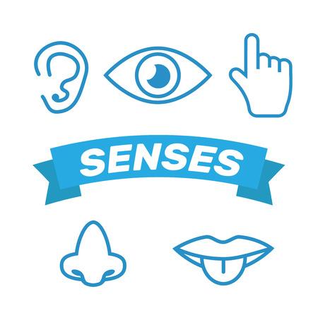 Icon human senses