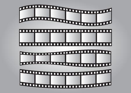 Juego de marcos de película deslizante, rollo de película de 35 mm