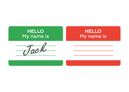 name tag banner. Name tag set. Hello my name is. card, Label sticker, introduce badge