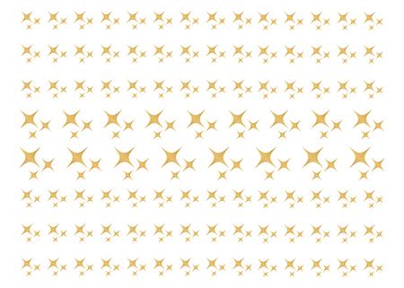 Sparkles, glowing light effect stars and bursts. Bright firework, decoration twinkle, shiny flash Ilustração